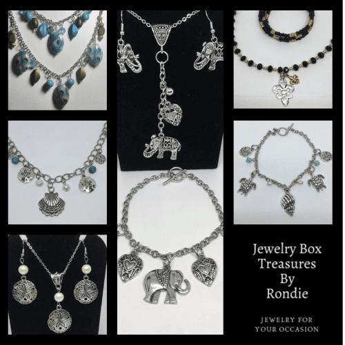 Jewelry Box Treasures By Rondie